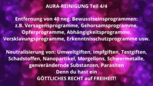 AURA-REINIGUNG Teil 4 von 4 – 17.06.2021