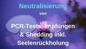 Neutralisierung von PCR-Tests, Impfungen & Shedding – 23.09.2021 um 19:30